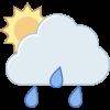Symbol Niederschlag